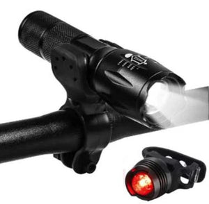 Waterproof Bicycle LED Lights - Front and Rear