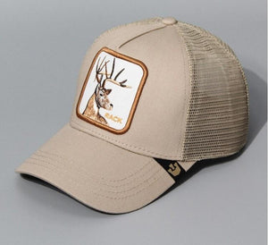Deer Embroidered Baseball Cap