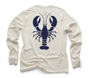 Blue Lobster Organic Long Sleeve - Natural