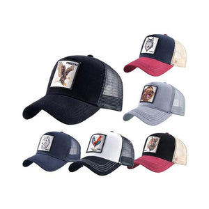 Animal Embroidered Baseball Caps
