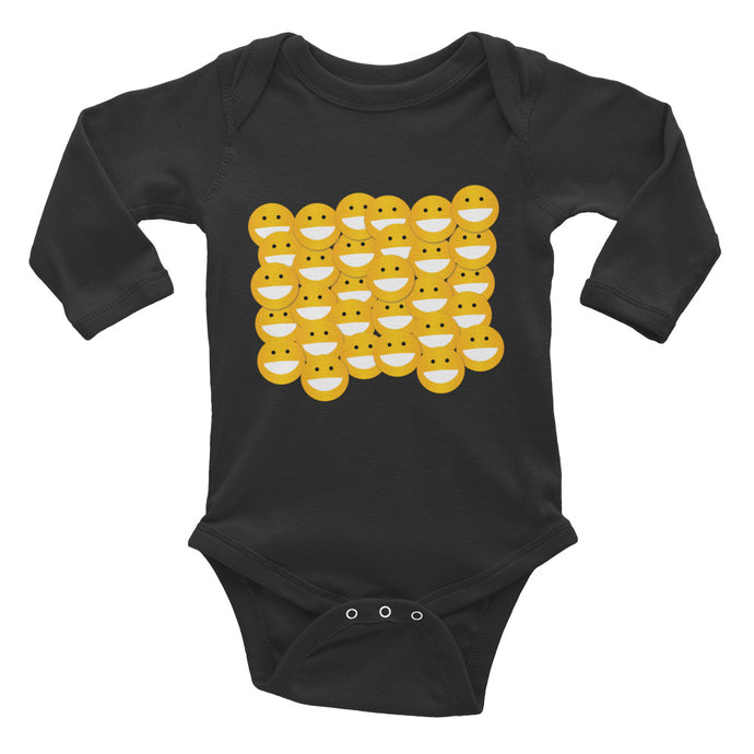 Block of Smiles Infant Long Sleeve Bodysuit