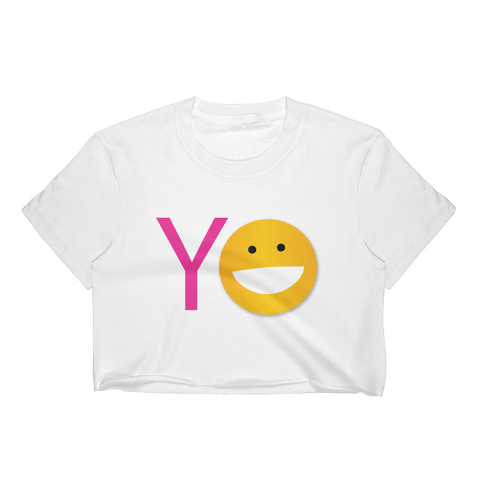 YO Women's Crop Top