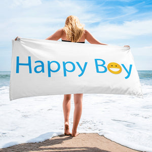 Happy Boy Towel