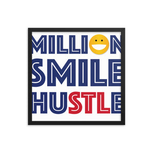 Million Smile Framed poster