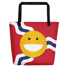 Load image into Gallery viewer, STL Smile Beach Bag