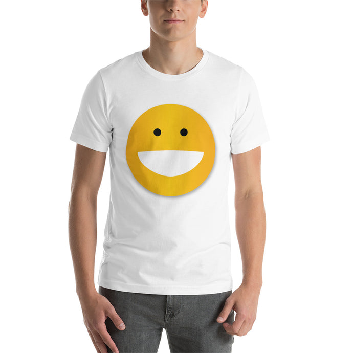 SMILEY Short-Sleeve Unisex T-Shirt