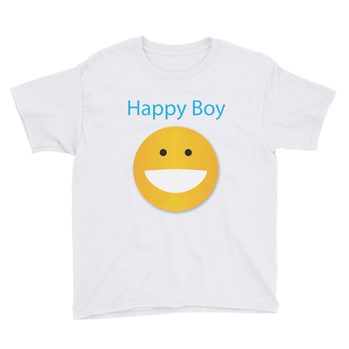 Happy Boy Youth Short Sleeve T-Shirt