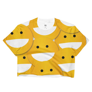 SMILEY Ladies Crop Top