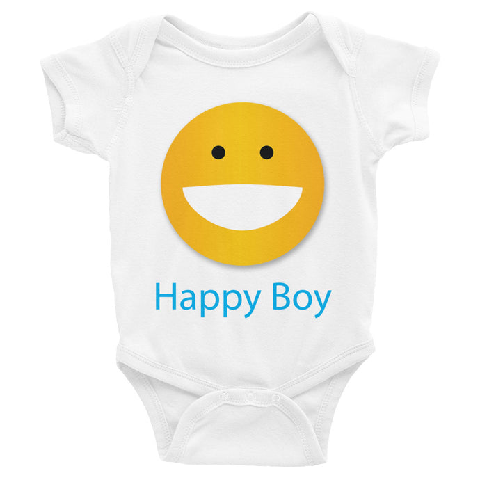 Happy Boy Infant Bodysuit