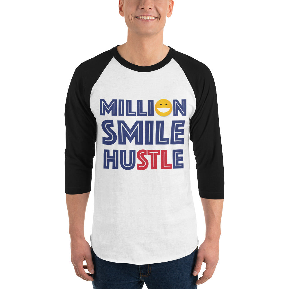 Million Smile Baseball Tee