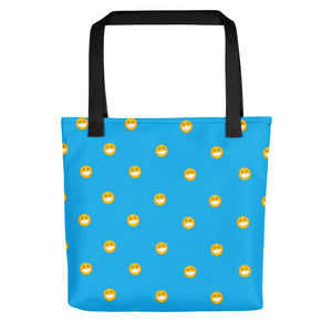 Polka Smile Tote bag