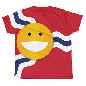 STL Smile youth sublimation T-shirt