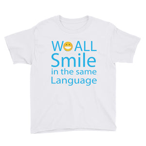 We ALL Smile Youth Short Sleeve T-Shirt