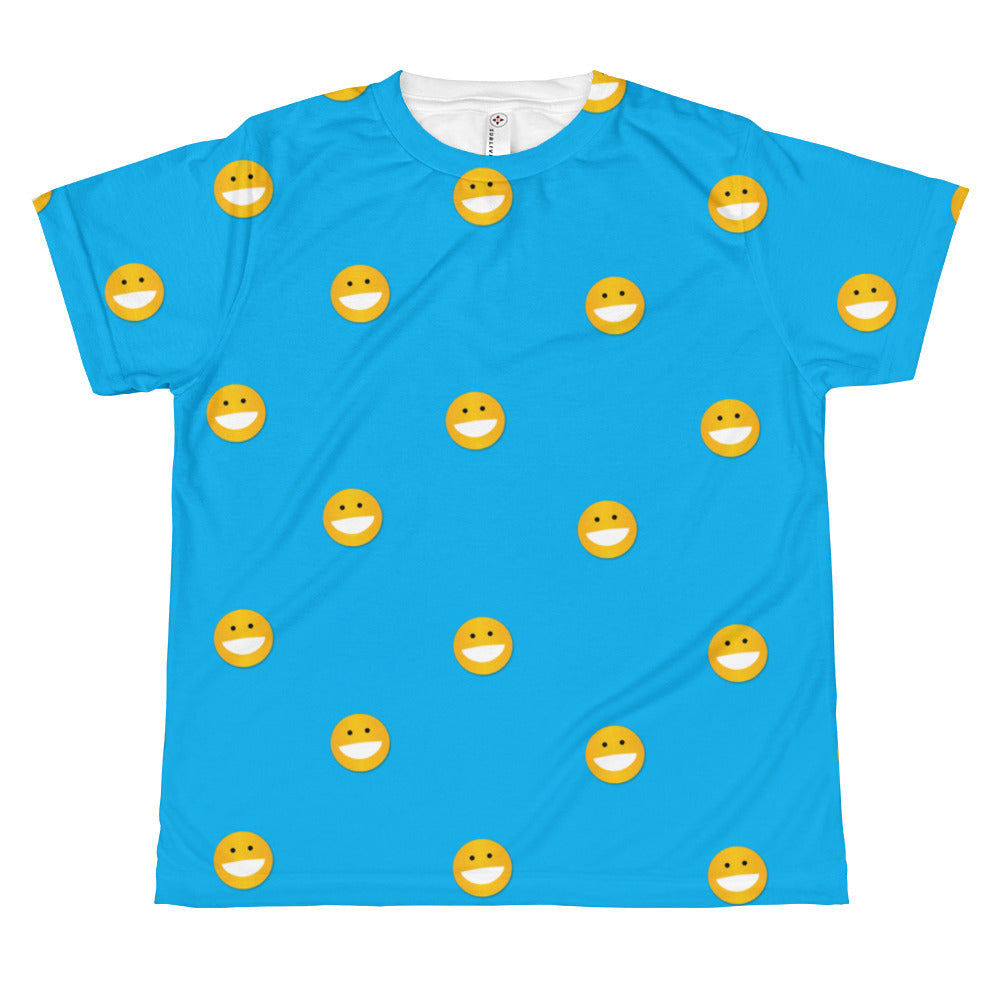 Polka Smile All-over youth sublimation T-shirt