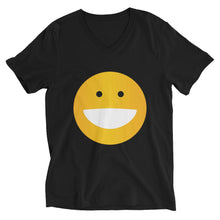 Load image into Gallery viewer, BIG Smiley Unisex Short Sleeve V-Neck T-Shirt