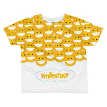 Load image into Gallery viewer, Smiley w/ logo All-over kids sublimation T-shirt
