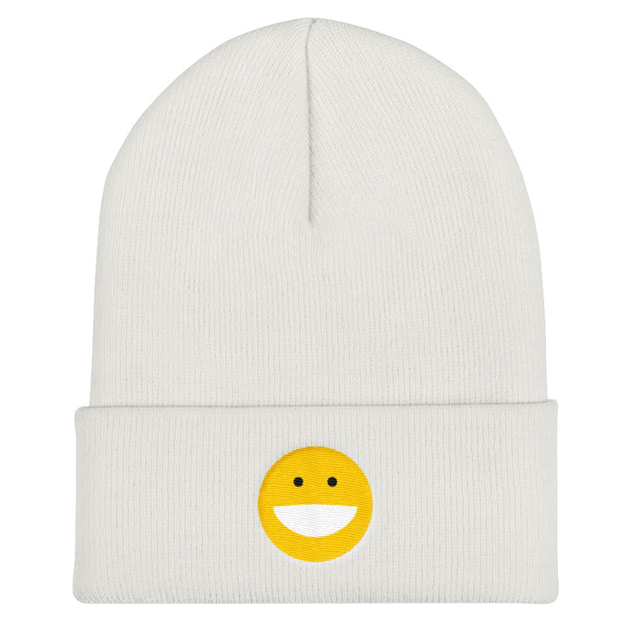 Smile Embroidered Beanie