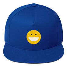 Load image into Gallery viewer, SMILEY Flat Bill Cap