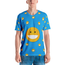 Load image into Gallery viewer, Smile Blue Men's T-shirt