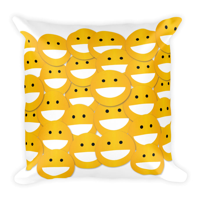SMILEY Square Pillow