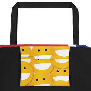 STL Smile Beach Bag