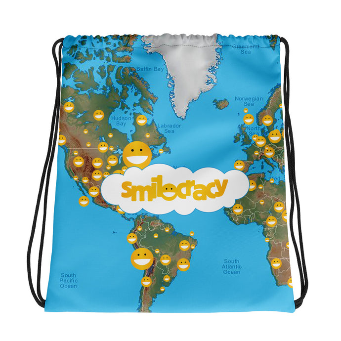 Drawstring bag + 10 Stickers
