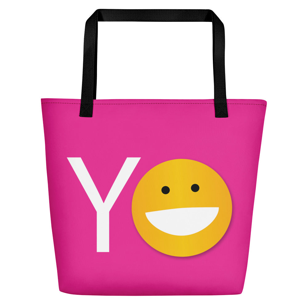 YO/OY Beach Bag