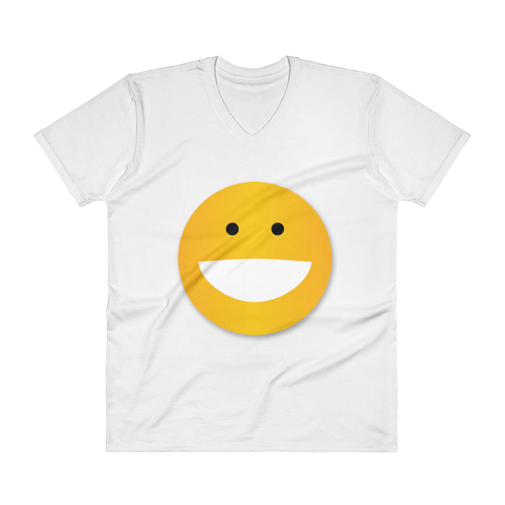 SMILEY V-Neck T-Shirt