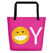 Load image into Gallery viewer, YO/OY Beach Bag