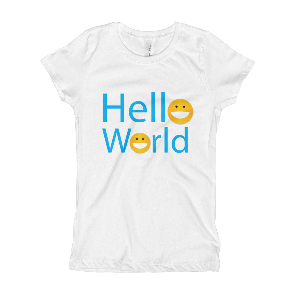 Hello World Girl's T-Shirt