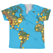 Load image into Gallery viewer, All-over youth sublimation T-shirt
