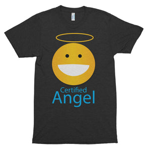CERTIFIED ANGEL Short sleeve soft t-shirt