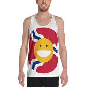Full Smile Print Tank Top