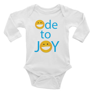 ODE TO JOY Infant Long Sleeve Bodysuit