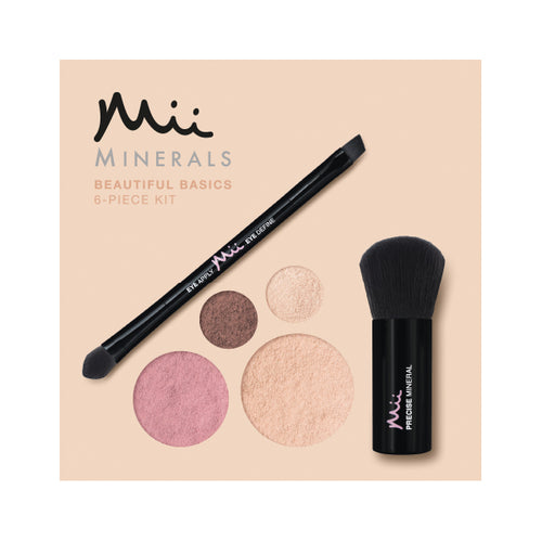 Mii Minerals Beautiful Basics Kit 00 Pearl