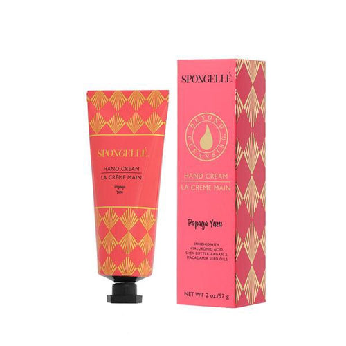 Spongellé Papaya Yuzu Hand Cream