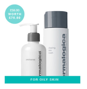 Dermalogica double cleanse oily skin