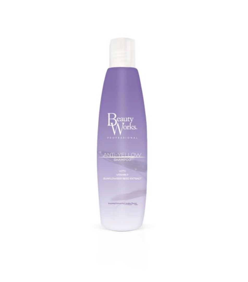 Beauty works anti yellow shampoo