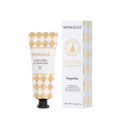 Spongellé hand cream freesia pear