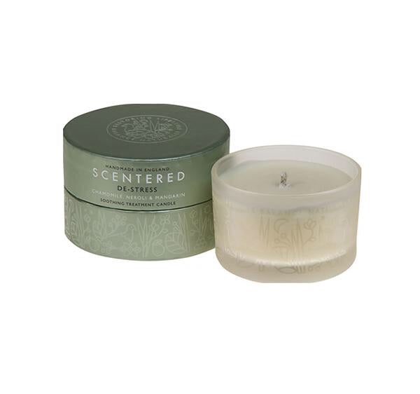 De stress travel therapy candle