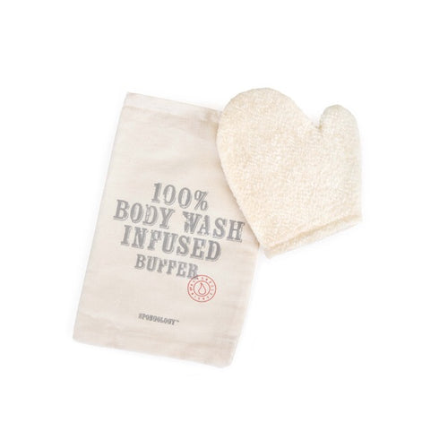 Spongology Body Contouring Glove - Lavender and Eucalyptus