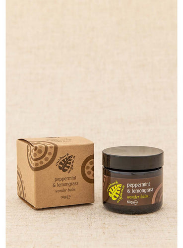 Outback Organics Peppermint and Lemongrass Wonder Balm