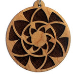 Cathedrals Pendants in Wood