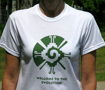 Welcome to the Evolution T-shirts