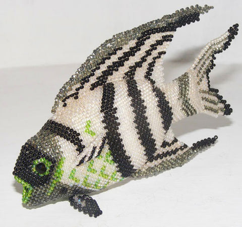 Angelfish - Beaded Animal by Jose Reanda