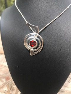 Cho Ku Rei Pendant with Gemstone