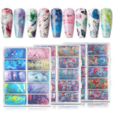 Mingle Free Nail Foil Decoration Set