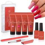 Life of A Rose Poly Nail Gel Extension Kit - Makartt