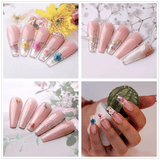 Pink & Clear Poly Nail Extension Gel Kit - Makartt