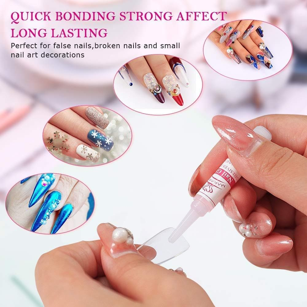 10 Pieces Nail Glue - Makartt